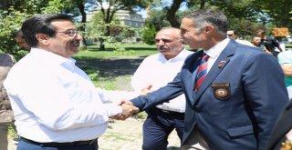 Başkan Atilla'dan Türkiye Muharip Gaziler Derneği'ne ziyaret