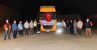 Adana Büyükşehir'in yardım tırı İzmir'de
