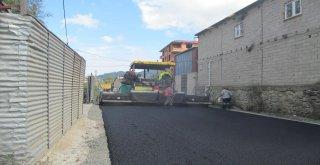 Büyükşehir Belediyesi yol çalışmalarına  ara vermeden devam ediyor