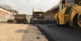 1. Sanayi Sitesi yolları asfaltlanıyor