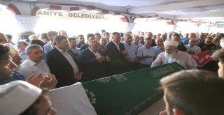 Başkan Hasan Can AK Parti Ümraniye Tepeüstü Mahalle Başkanı Yaşar Tosun'un Annesi'nin Cenazesine Katıldı