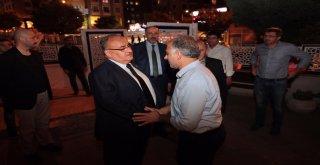 Başkan Hasan Can, AK Parti Adem Yavuz Eski Mahalle Başkanı Mustafa Gülnar'a Taziye Ziyaretinde Bulundu