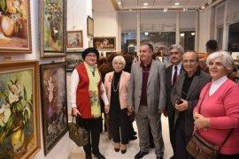Ressamlardan 'Hoşgeldin Yeni Yıl' resim sergisi