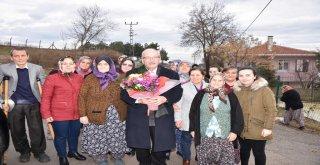 Başkan Kadir Albayrak'a Vatandaşlardan Sevgi Seli
