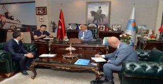Birleşmiş Milletler Dünya Gıda Programı Ülke Direktörü Grede'den Başkan Kocamaz'a Ziyaret