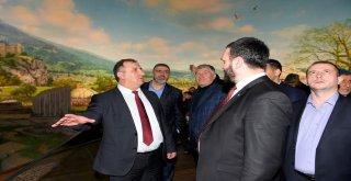 Sjenica Belediye Başkanı Mujovic'ten Dündar'a Ziyaret
