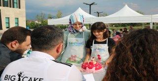 En renkli pastalar Akyazı SGM'de yapıldı