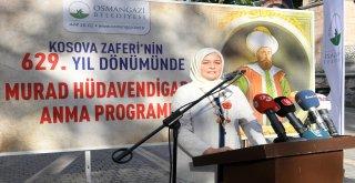 Murad Hüdavendigar Han Bursada Anıldı