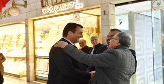 Başkan Dündar'dan Çarşı Esnafına Teşekkür Ziyareti