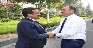 Elazığ'dan Başkan Atilla'ya ziyaret