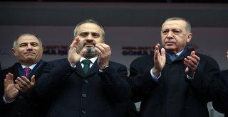Bursa'ya Cumhurbaşkanı dopingi