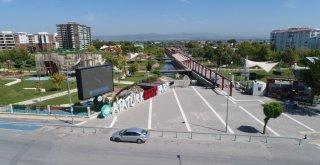 Atatürk Kent Parkındaki Derede Islah ve Temizlik Çalışmaları Tamamlandı