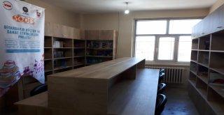 Büyükşehir Belediyesi 5 okulun kütüphanesini yeniledi