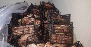 Adana'da Yaklaşık 40 ton kaçak et ele geçirildi