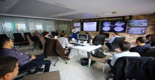 İMO'dan Büyükşehir Trafik Yönetim Merkezi'ne ziyaret