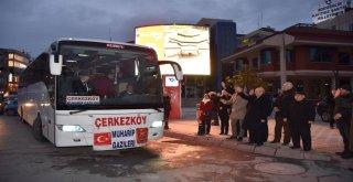 Başkan Albayrak Çerkezköylü Gazileri Sarıkamış'a Uğurladı