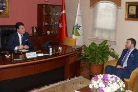 Federasyon Başkanı Çintimar'dan Başkan Dündar'a Ziyaret