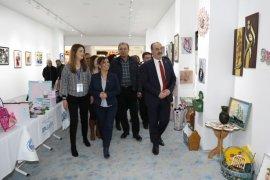 Mudanya Belediyesi 'El Sanatları Sergisi' açıldı
