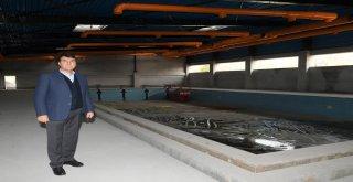 Yeni Karaman Yüzme Havuzu'nda Sona Yaklaşıldı