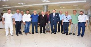 Başkan Kadir Albayrak'tan Kaanlar Gıda'ya Ziyaret