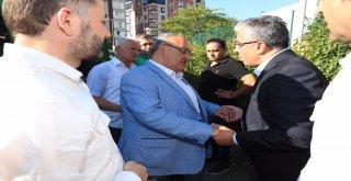Başkan Hasan Can, Cumhurbaşkanlığı Başdanışmanı Mehmet Uçum'un Vefat Eden Yakını Nizan Yatsan'ın Cenaze Törenine Katıldı