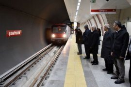 Başkent'te Ankaray ve Metro'da  günlük yolcu sayısı 500 bine ulaştı