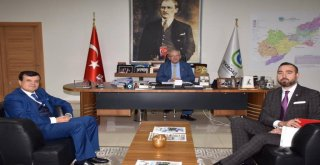 Tekirdağ Barosu'ndan Başkan Kadir Albayrak'a Ziyaret