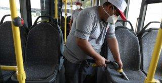 Büyükşehir otobüslerinde hijyen ön planda
