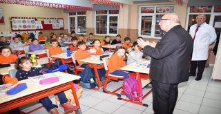 Başkan Kadir Albayrak Minik Öğrencilere Buluştu