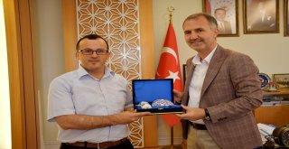 Ağır Ceza Mahkemesi Başkanı Duran'dan Başkan Taban'a Veda Ziyareti