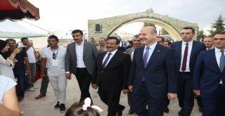 İçişleri Bakanı Soylu, Diyarbakır Tanıtım Günleri'ni Ziyaret Etti