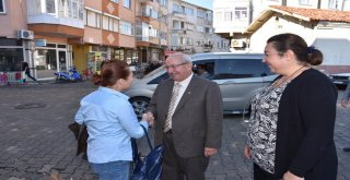 Başkan Albayrak Şarköylü Vatandaşlarla Buluştu