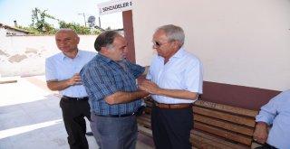 Güzgülü ve Coşkun, Hacıhaliller Mahallesi'ni Ziyaret Etti