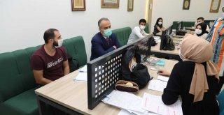 Sınava hazırlanan memur adaylarına moral