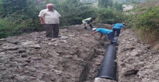 Bahçeler'de Eskiyen Kanalizasyon Hattı Yenilendi