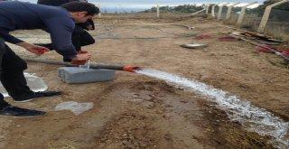 Saruhanlı'ya Yeni İçme Suyu Sondajı