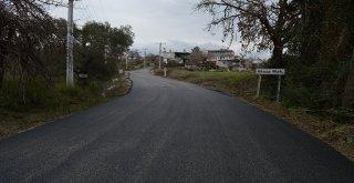 Manavgat Aksaz-Karaöz'e sıcak asfalt