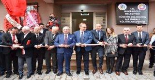 Başkan Albayrak Hüseyin Selahattin Ali Moralı Kültür Akademisinin Açılışına Katıldı