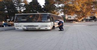 Ahmetli'de Okul ve Personel Servislerine Denetim