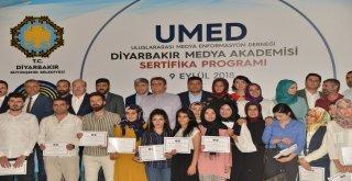 UMED eğitimleri sertifika töreniyle sona erdi