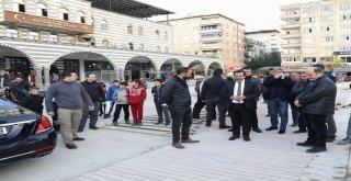 Başkan Atilla 'Ofis Meydanı' çalışmasını denetledi