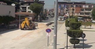 Demirciler ve Hükümet Caddesi'nin Altyapısında Sona Yaklaşıldı