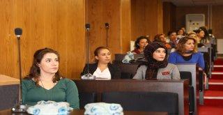 Kadın personellere kanserle mücadele eğitimi