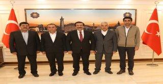 Hurdacılar Toplu İşyeri Yapı Kooperatifi'nden Başkan Atilla'ya ziyaret