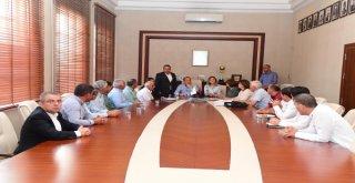 Aladağ Muhtarlarından Başkan Sözlü'ye Ziyaret
