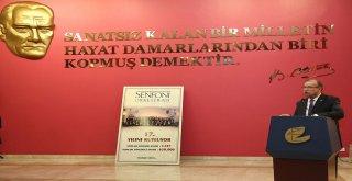 SENFONİ ORKESTRASI 100 AFİŞ SERGİSİ AÇILDI