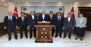 Bakan Soylu'dan Büyükşehir'e ziyaret