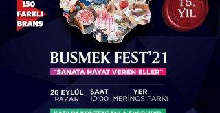 Sanata hayat veren ellere özel festival