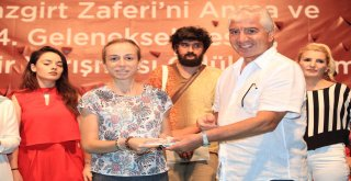 Ümraniye Belediyesi'nin Malazgirt Zaferi'ni Anma ve 14. Geleneksel Resim, Hikaye ve Şiir Yarışmaları Ödül Töreni Yoğun Katılımla Gerçekleşti