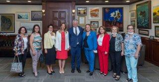 CHP Kadın Kolları Genel Başkanı Nazlıaka'dan Büyükşehir'e ziyaret